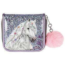 Гаманець ТОР Model Miss Melody фіолетовий - Місячний Кінь (Top-Model кошелек топ модел Лунная лошадка)