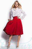 Базовая юбка-клеш Gepur 18111