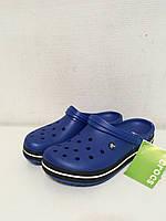 Кроксы летние Crocs Crocband синие 36 разм., фото 1