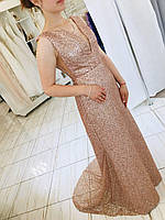 Вечернее платье ручной работы