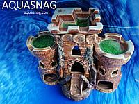 Замок тройной   дл 24см, шир 14см, выс 20см, фото 1