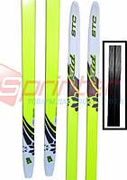Спортивні лижі, пластик ЅТС р. 130 див. (Україна)