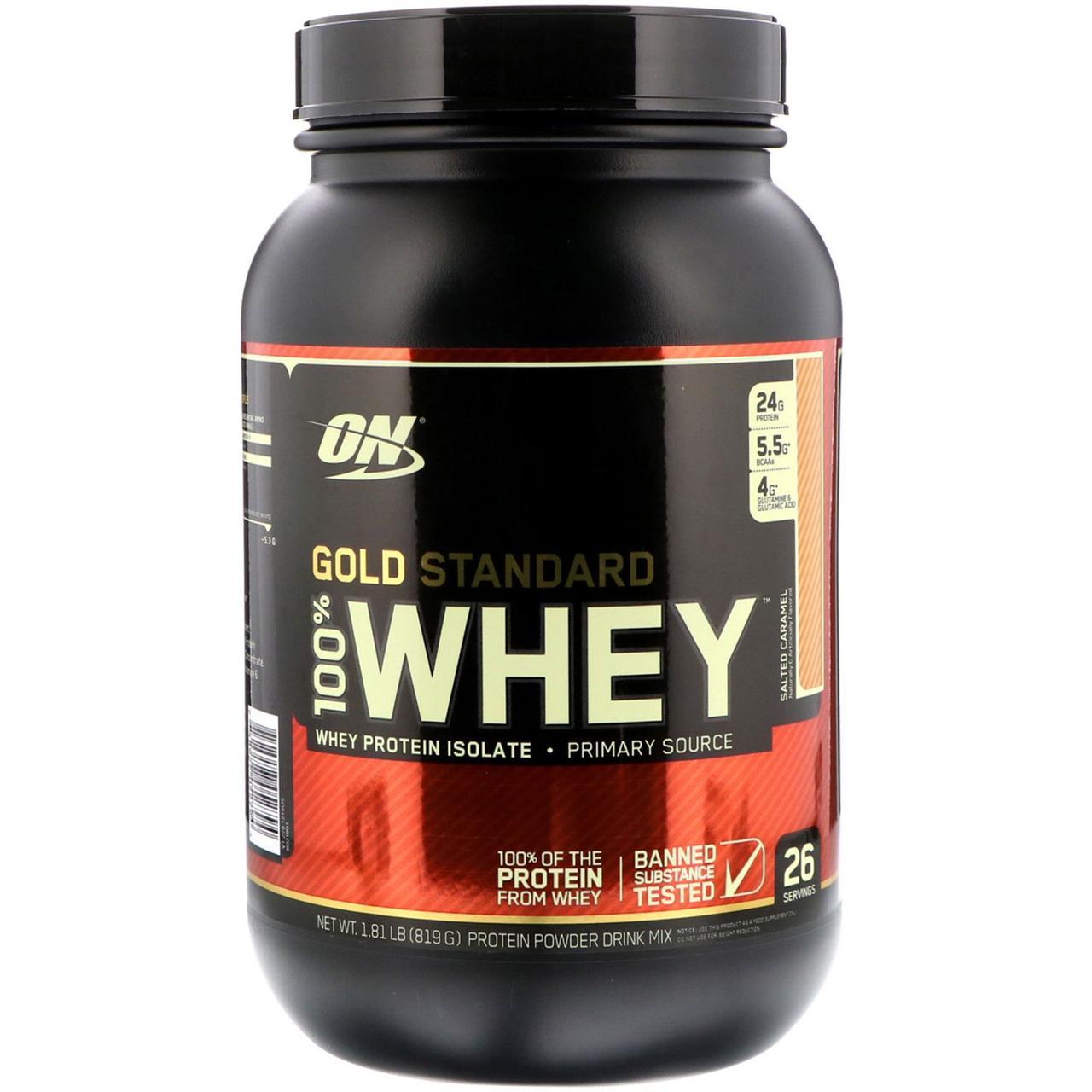 Сывороточный протеин (Gold Standard Whey), Optimum Nutrition, 819г