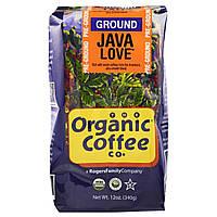 Молотый кофе Яванская любовь, Pre Ground, Organic Coffee Co, 340 г