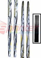 Лыжи спортивные, пластик STС р. 160 см. (Украина)
