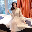 Платье женское модное нарядное размер универсальный 42-48 купить оптом со склада 7км Одесса, фото 3