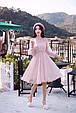Платье женское модное нарядное размер универсальный 42-48 купить оптом со склада 7км Одесса, фото 6
