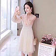 Платье женское модное нарядное размер универсальный 42-48 купить оптом со склада 7км Одесса, фото 7