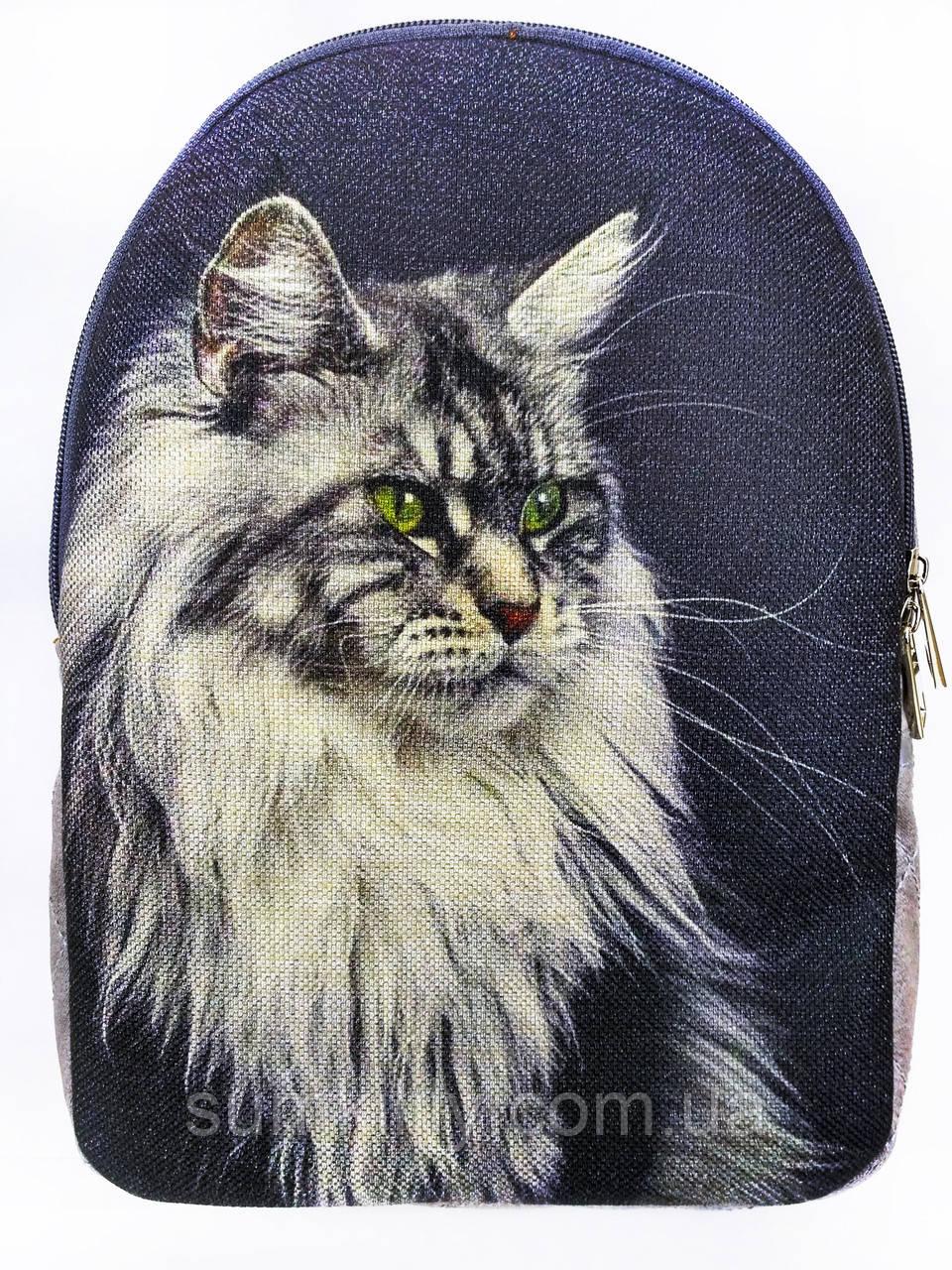 Текстильный рюкзак МЕЙНКУН серый