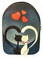 Текстильный рюкзак КОТОСЕРДЦЕ, фото 1