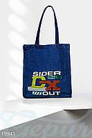 Джинсовая сумка-шоппер Gepur 19941