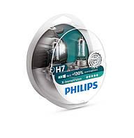Комплект галогеновых ламп Philips H7 X-treme Vision +130% 12v/55w, фото 1