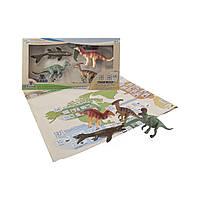 Обучающий игровой набор с QR-картой - ДИНОЗАВРЫ МЕЛОВОГО ПЕРИОДА, фото 1