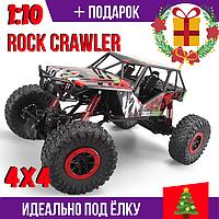 Машинка на радиоуправлении 2.4GHz Rock Crawler 1:10 Полный привод 4X4 Красная RTR