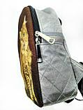 Текстильный рюкзак КЕЛЬТСКАЯ кошка, фото 2