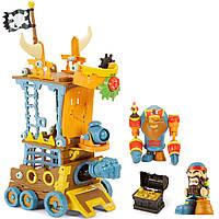 Игровой набор с фигуркой KINGDOM BUILDERS - ПИРАТСКАЯ ПРИСТАНЬ, фото 1