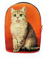 Текстильный рюкзак БРИТАНСКИЕ Кошки, фото 1