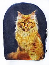 Текстильный рюкзак МЕЙНКУН рыжий