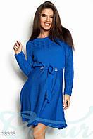 Расклешенное вязаное платье Gepur 18535