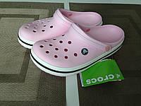 Кроксы женские летние Crocs Crocband 42 разм., фото 1