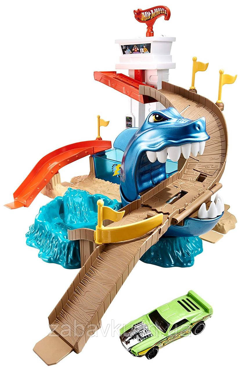 Hot Wheels Color Shifters Sharkport Showdown Трек Хот Вілс Охота на акулу
