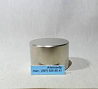 Неодимовый магнит хром 45мм/30мм  90 кг, фото 1
