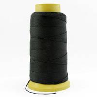 Нить Нейлоновая Швейная в катушках, Цвет: Черный, Толщина 0.6мм, около 135м/1катушка, (УТ000007004)