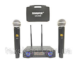 Беспроводные микрофоны для караоке SHURE UGX66 с кейсом
