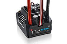 Регулятор хода HOBBYWING EZRUN MAX10 SCT 120A 2-4S влагозащищенный для автомоделей, фото 2
