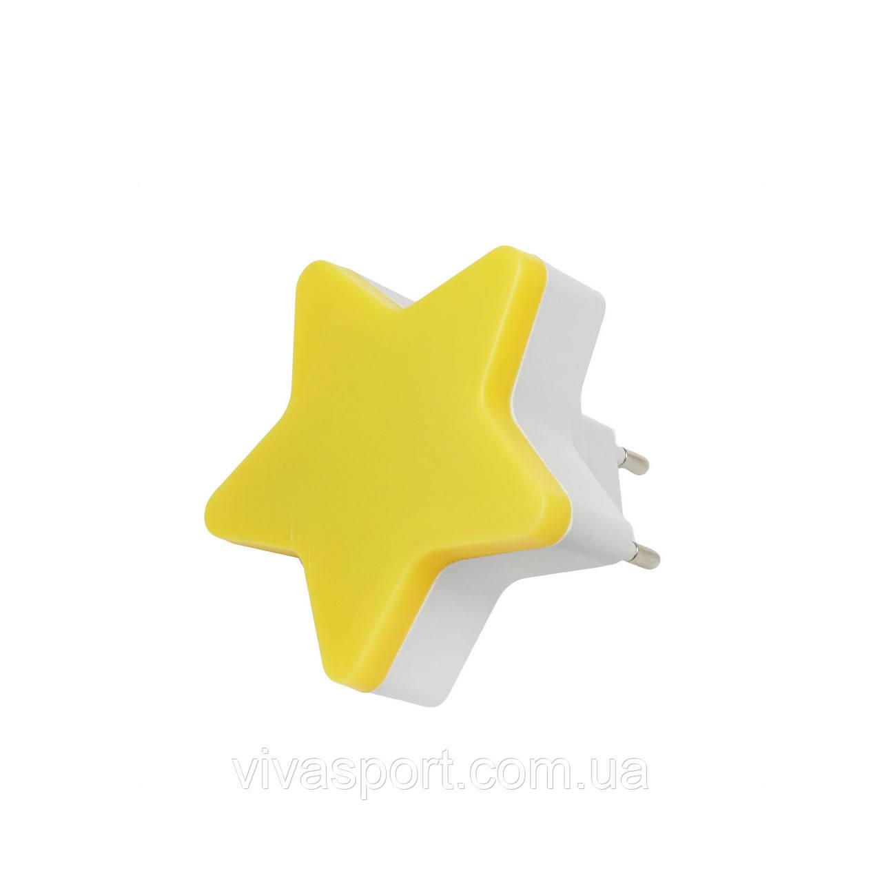 """Мини светильник-ночник """"Звездочка"""", желтый"""