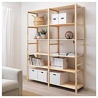 IKEA IVAR Стеллаж, сосна, 174x50x226 см (492.483.54), фото 1