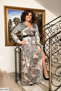 Сукня принт леопард