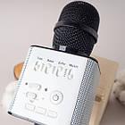 Караоке мікрофон Q9 бездротовий портативний 2 в 1 з Bluetooth і функціональної колонкою ОПТ, фото 7