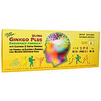 Prince of Peace, Ультра Гингко Плюс, средство для выносливости, 30 флаконов по 0,34 жидк. унц. (10 куб. см) каждый