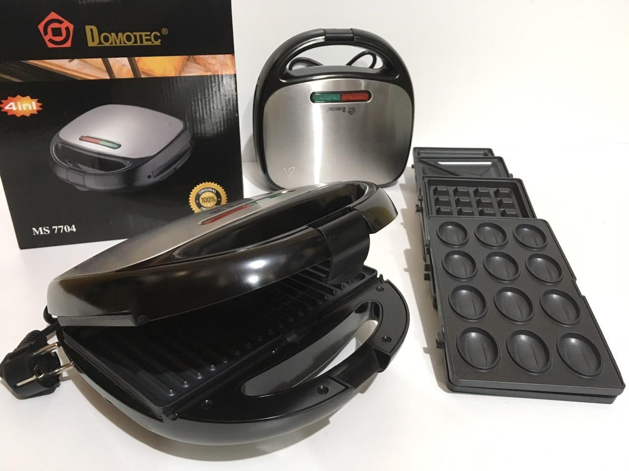 Сендвичница DOMOTEC MS-7704 4 IN 1 (6 шт/ящ)
