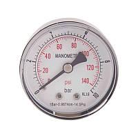 Термоманометр задн. подкл. 1/2 Ø80мм 120ºC 10 бар