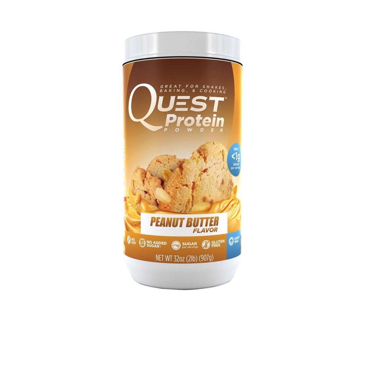 Quest Nutrition, Протеиновый порошок со вкусом арахисового масла, 907 г