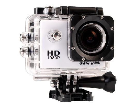 Экшн камера SJCam SJ4000 для отдыха , спорта путешествий  Белая