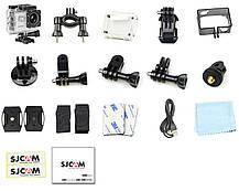 Экшн камера SJCam SJ4000 для отдыха , спорта путешествий  Белая, фото 2