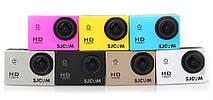 Экшн камера SJCam SJ4000 для отдыха , спорта путешествий  Белая, фото 3