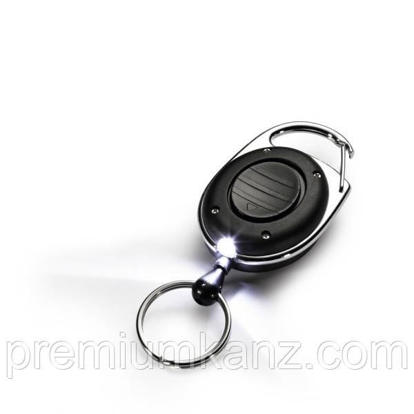 Рулетка для ключей с фонариком  DURABLE