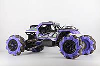 Машинка на радиоуправлении 4WD 112 Дрифт под углом 90 градусов фиолетовая - 218620
