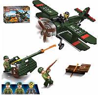 """Конструктор Brick 1705 """"Військовий літак"""", 187 дет."""