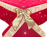 "Скатерть новогодняя гобеленовая ""Подарункова"" 137 х 180 см, фото 2"