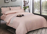 Комплект постельного белья СТРАЙП-САТИН персиковый