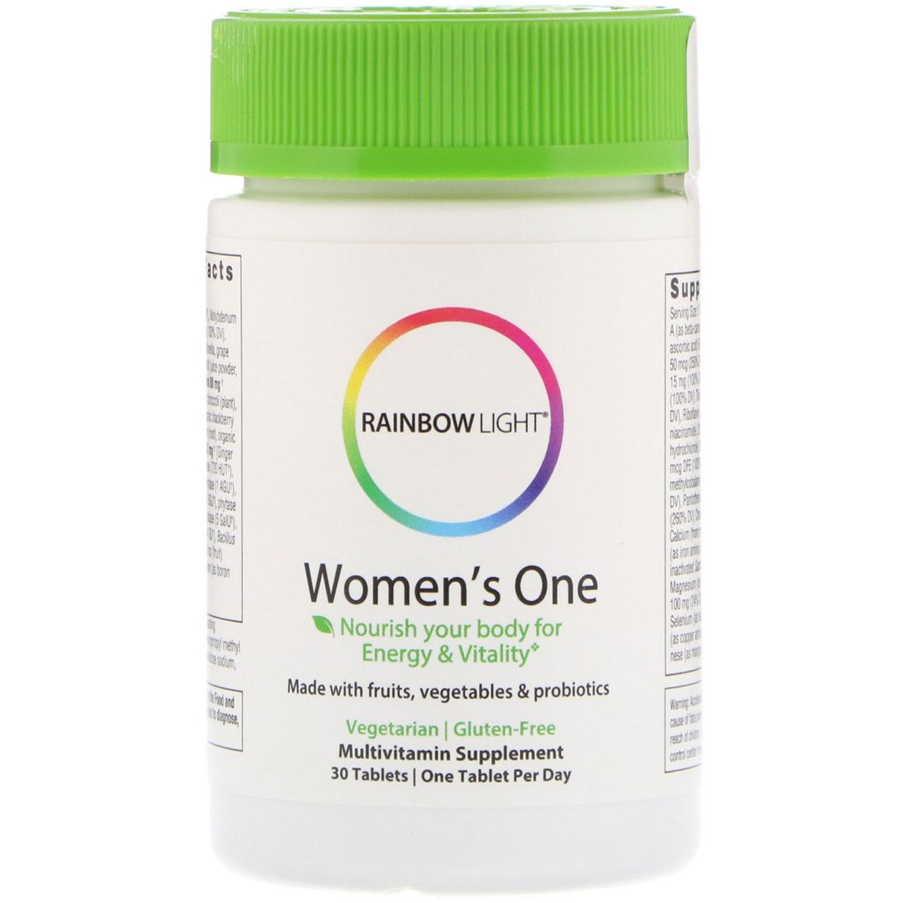 Комплексні вітаміни для жінок, 30 таблеток, Rainbow Light