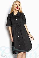 Легкое платье-рубашка Gepur 19701, фото 1