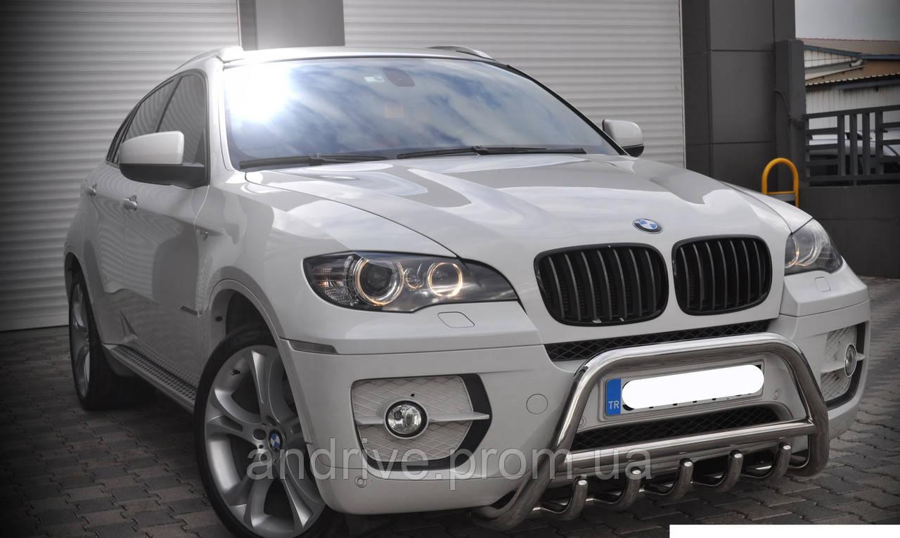 Защита переднего бампера (кенгурятник) BMW X5/X6 (E71) 2007-2014