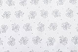 Скатерть новогодняя тканевая жаккардовая двусторонняя с люрексом 137 х 280 см, фото 3
