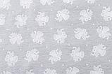 Скатерть новогодняя тканевая жаккардовая двусторонняя с люрексом 137 х 280 см, фото 4
